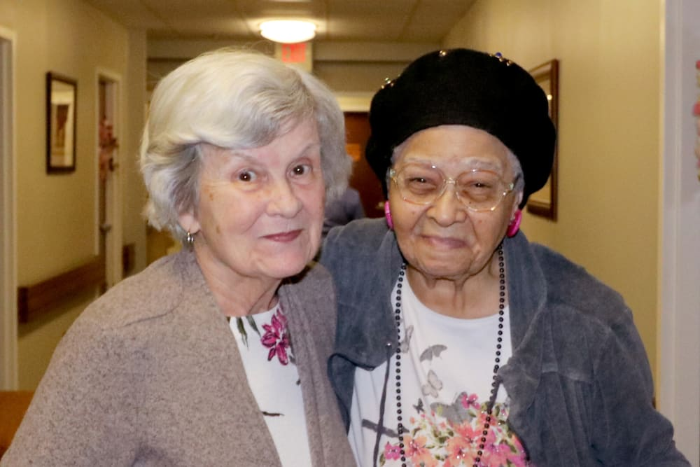 Happy Residents at Harmony at Ironbridge in Chester, Virginia