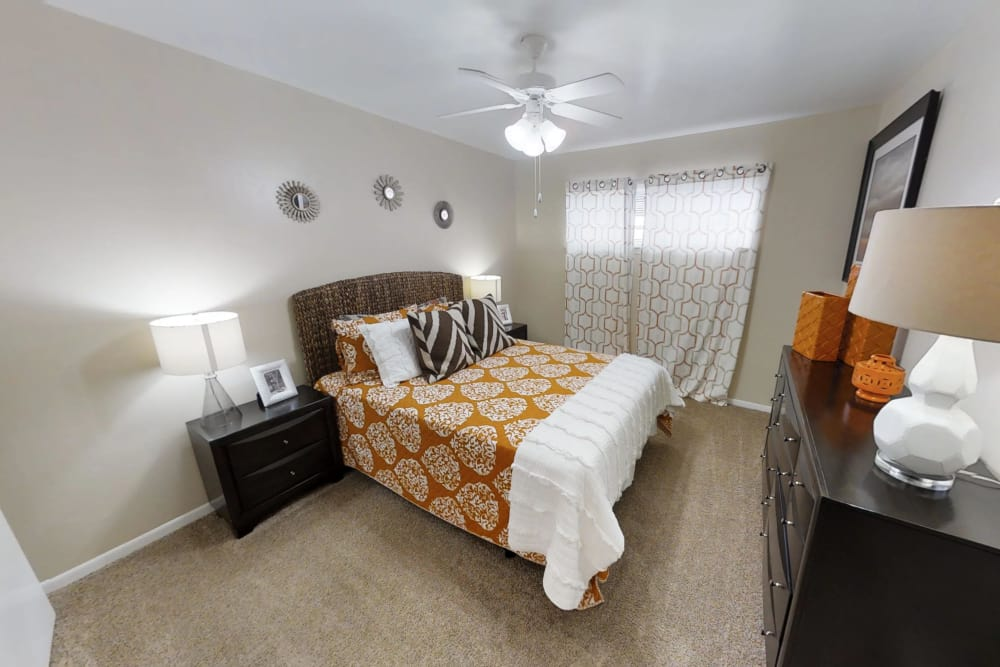 Second Bedroom at Palms at Chimney Rock Apartments in Houston, Texas