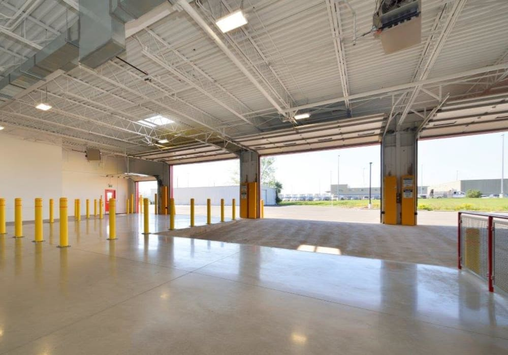 Loading area at Apple Self Storage - Oakville in Oakville, Ontario
