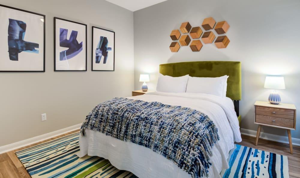 Bedroom at Baypoint in Corpus Christi, Texas