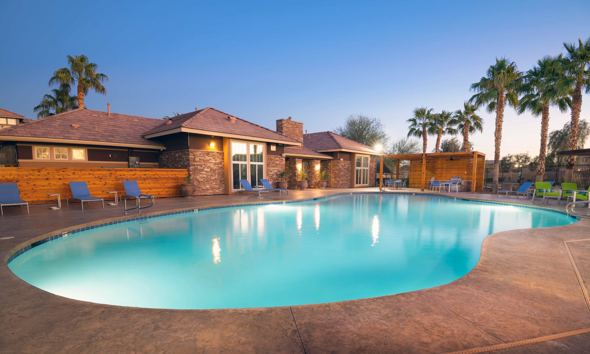 Our Apartments in North Las Vegas, Nevada offer a Swimming Pool