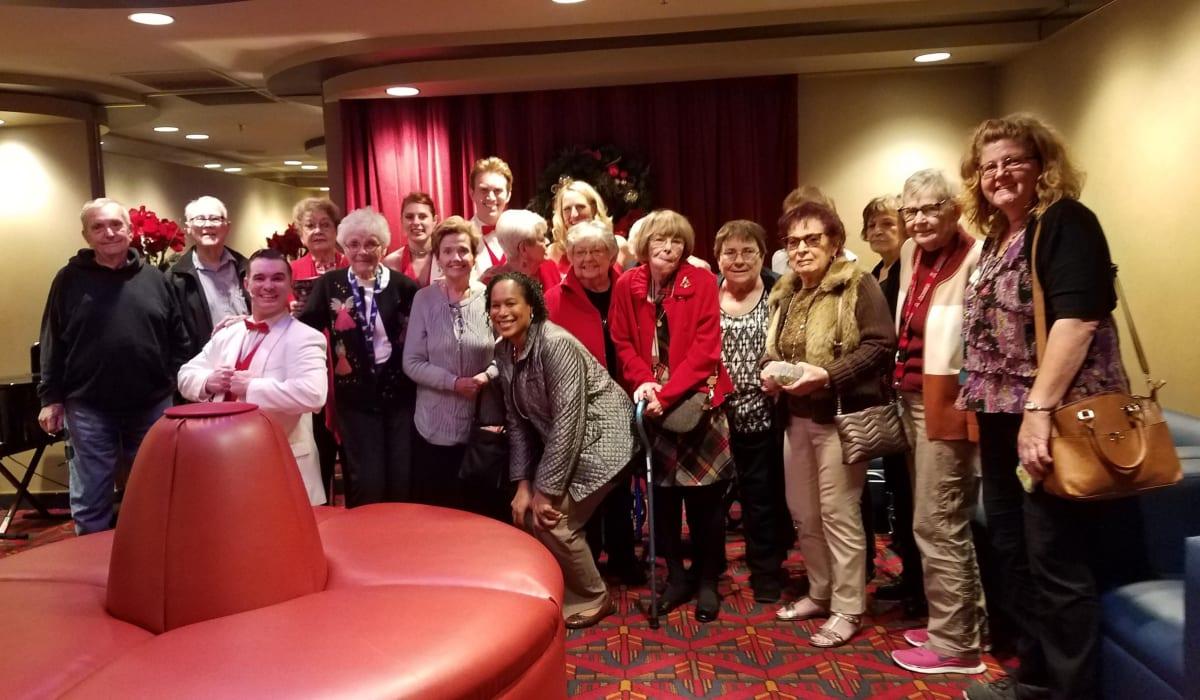 senior resident group photo
