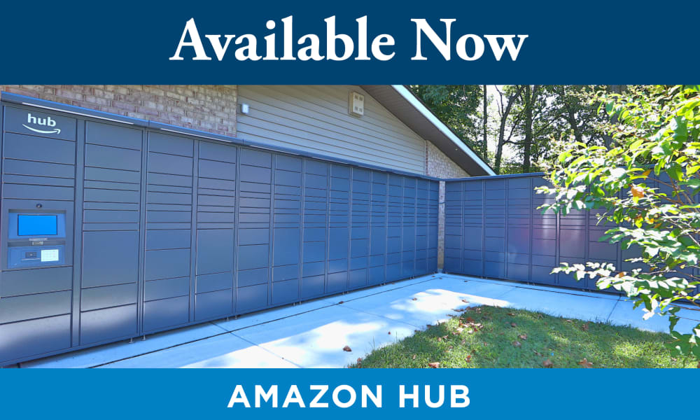Amazon Hub at Seneca Bay Apartment Homes in Middle River, MD