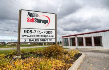 Apple Self Storage East Gwillimbury location