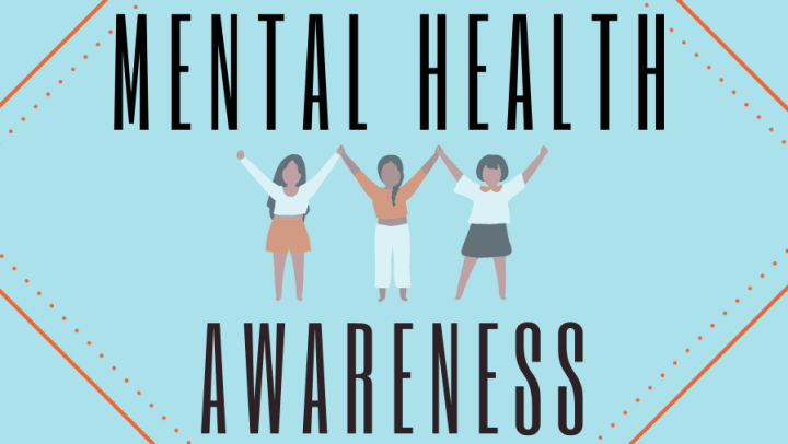 Mental Health Awareness graphic