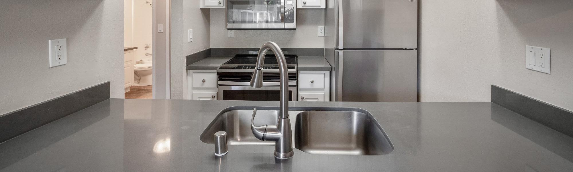 Floor plans at Valley Ridge Apartment Homes in Martinez, California
