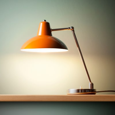 Lamp in a home at The Sutton Collection in New York, New York