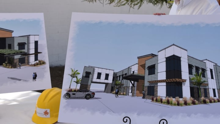 Seasons Living, construction rendering for Rolling Hills