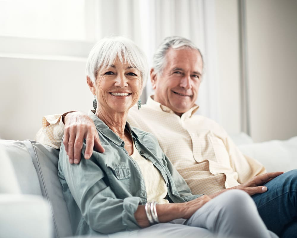 Resident couple fully satisfied with their decision to move to WellQuest of Elk Grove in Elk Grove, California