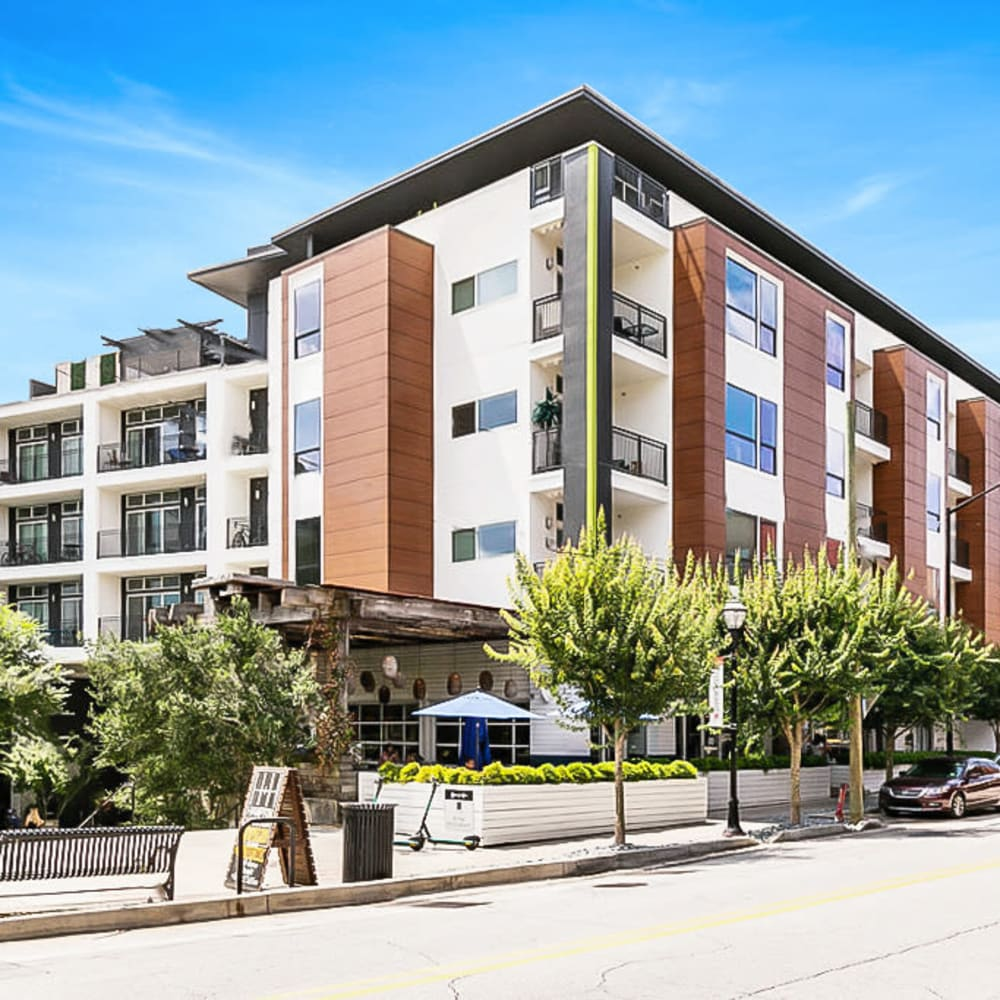 View the site for Inman Quarter apartments in Atlanta, Georgia