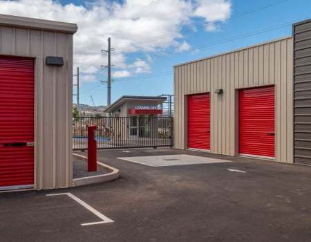 Drive-up units at StorQuest Express - Self Service Storage in Kapolei, Hawaii