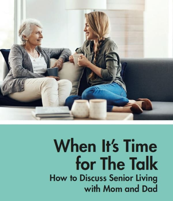 When it's time for The Talk at The Claiborne at Brickyard Crossing in Summerville, South Carolina