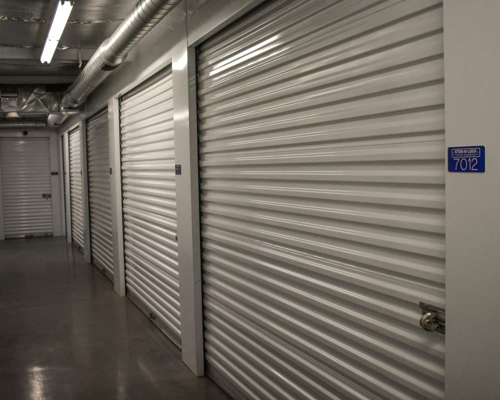 Climate-controlled storage units at STOR-N-LOCK Self Storage