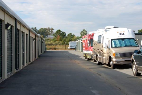 RV boat and auto storage at Advantage Self Storage in Indian Trail