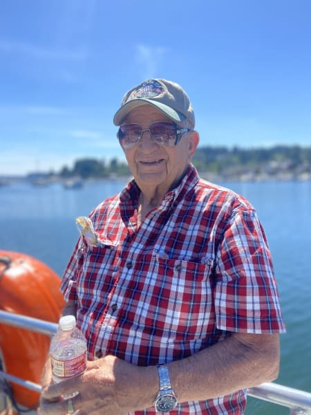 A Tacoma resident enjoy a cruise out on the Puget Sound!