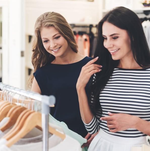 Residents shopping for clothes near Linden Crossroads in Orlando, Florida
