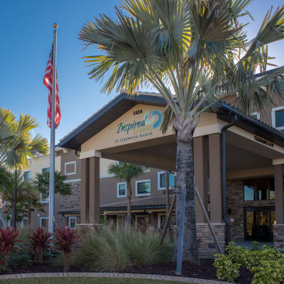 The community Inspired Living at Lakewood Ranch, in Bradenton, Florida.