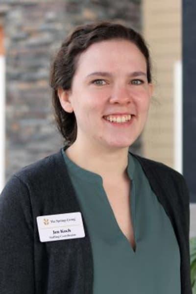 Jen Koch, Staffing Development Coordinator at The Springs at Sherwood in Sherwood, Oregon