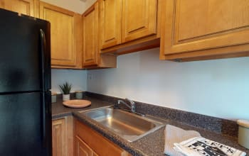 Virtual tour of a studio apartment at Cedar Gardens and Towers Apartments & Townhomes in Windsor Mill, Maryland