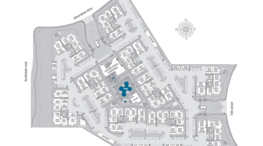 San Portales site plan