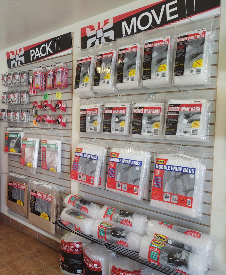 Packing supplies available at StorQuest Self Storage in Stockton, California