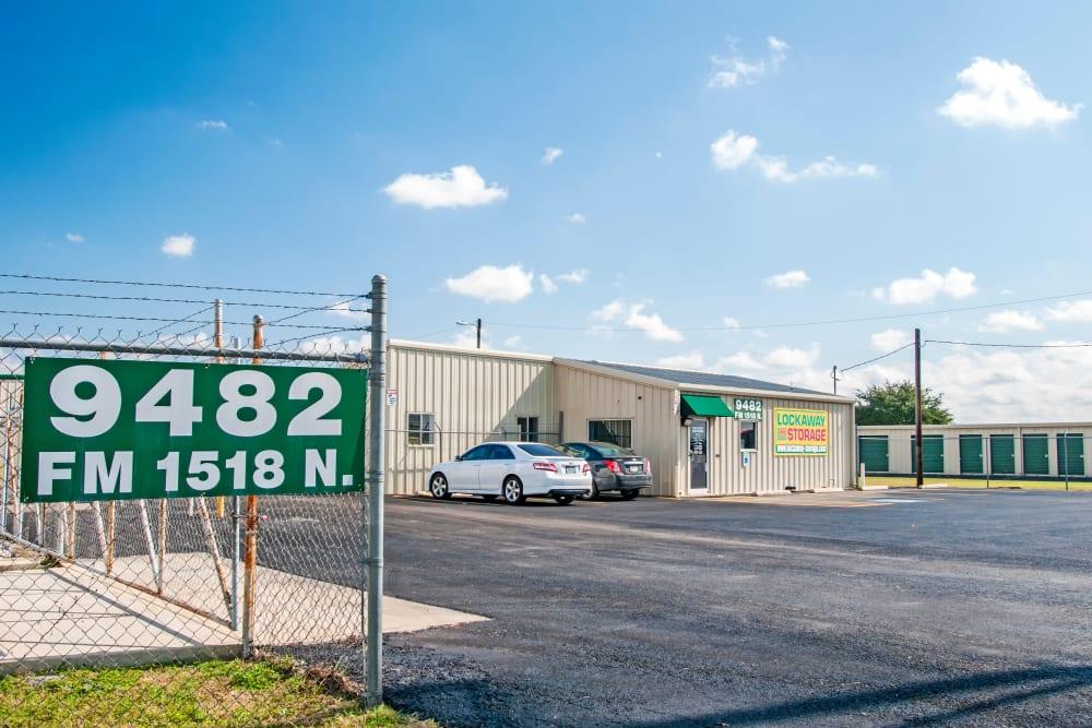 Exterior of Schertz, Texas near Lockaway Storage