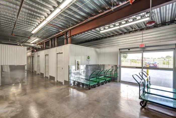 Loading zone at Space Shop Self Storage in Atlanta, Georgia