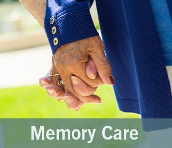 Memory care graphic from Merrill Gardens at Wright Park in Tacoma, Washington