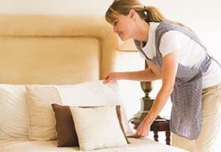 Greer senior living housekeeping and linen services