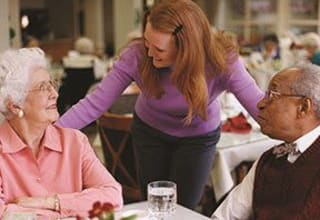 Concierge dining services for Lexington senior living residents
