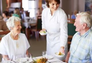 Gourmet dining at Louisiana senior living communities