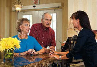 The concierge service for our New Orleans senior living residents anticipates every need