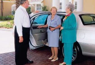 Senior living transportation in South Carolina features chauffeured transportation