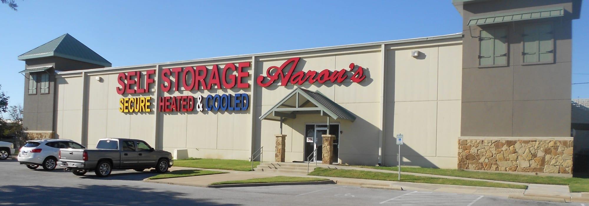 Aarons Self Storage self storage in Texas