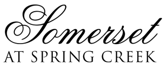 Our logo at Somerset at Spring Creek in Plano, Texas