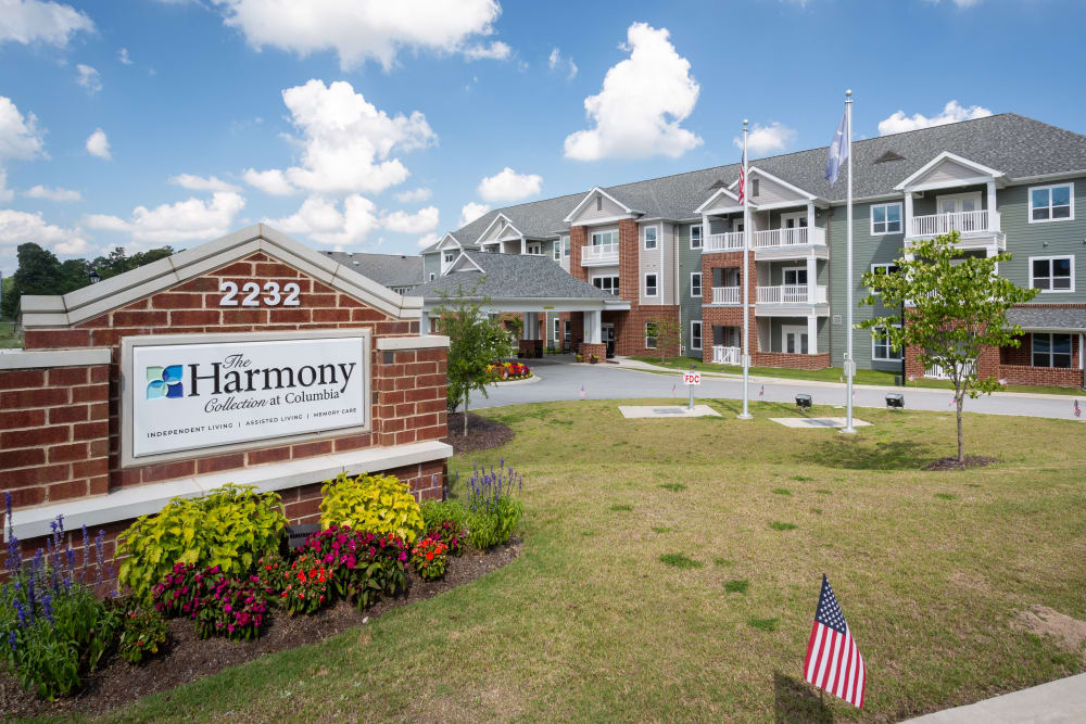 Exterior of The Harmony Collection at Columbia in Columbia, South Carolina