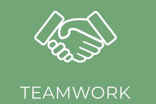 Teamwork puzzle at Discovery Senior Living in Bonita Springs, Florida