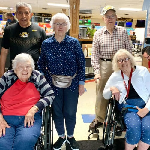 Resident outing at The Oxford Grand Assisted Living & Memory Care in Kansas City, Missouri
