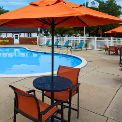 View the features and amenities at Maple Creek Apartments in Sterling Heights, Michigan