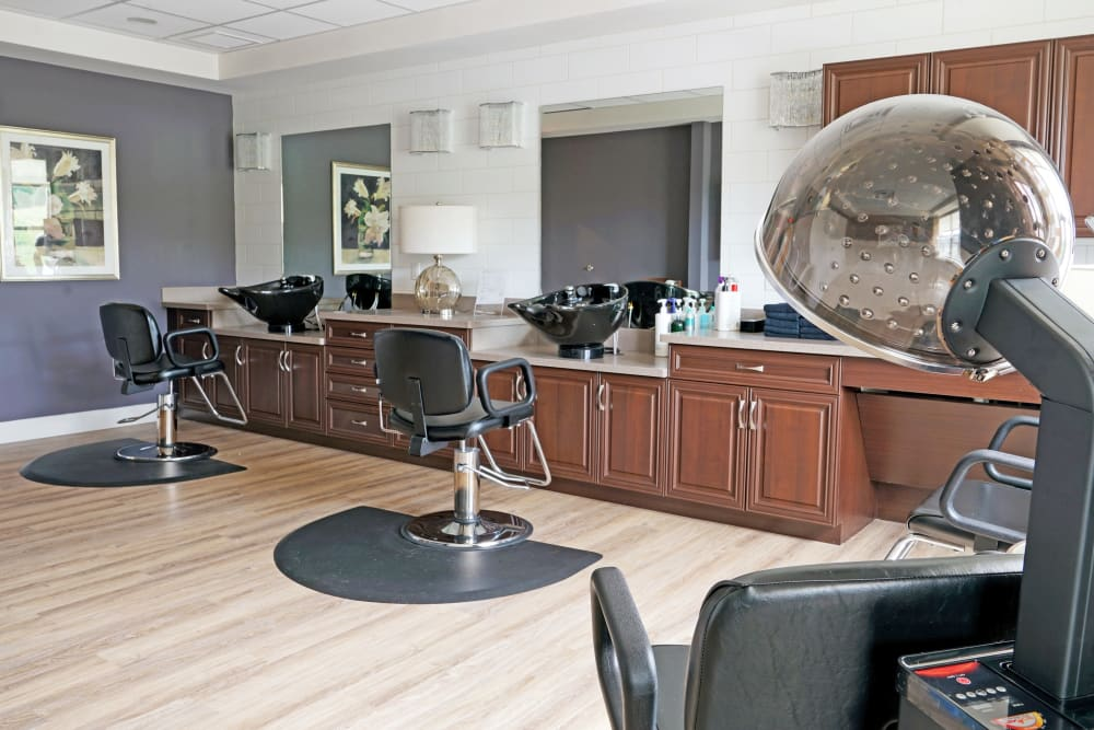 Salon at Harmony at White Oaks in Bridgeport, West Virginia