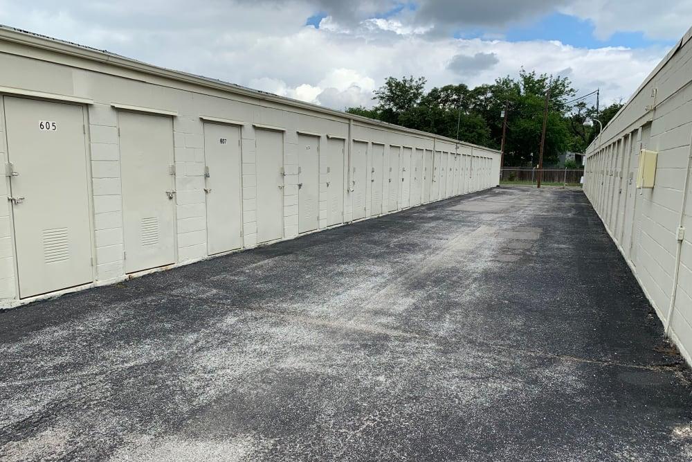 Exterior Units of Lockaway Storage in San Antonio, Texas
