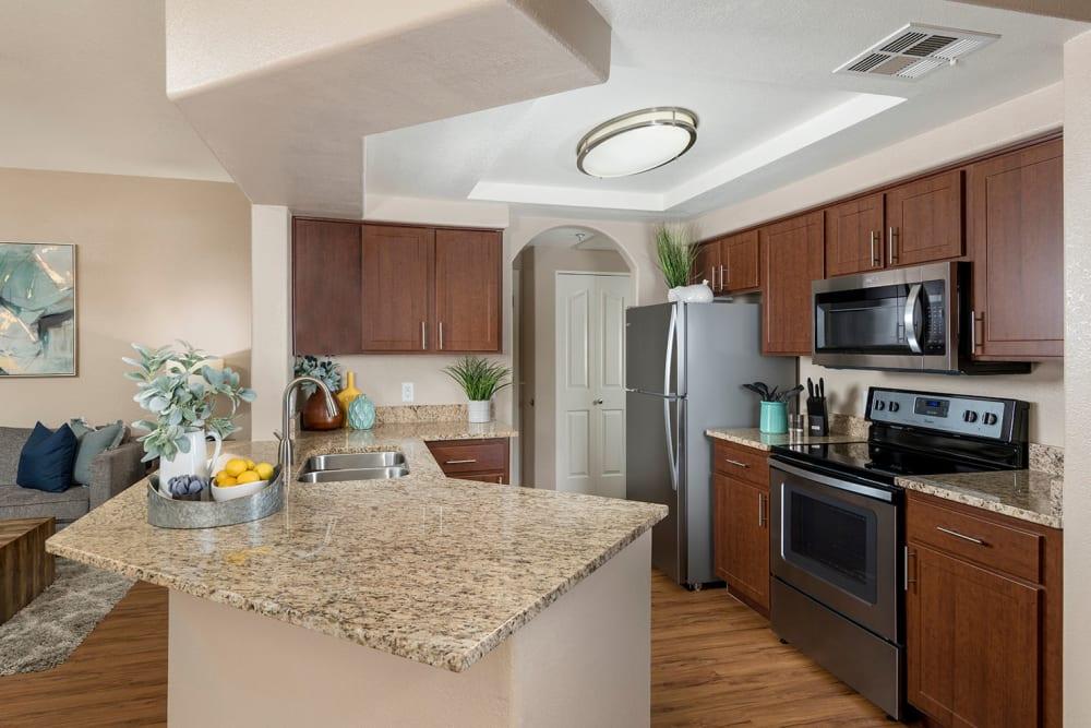Kitchen at San Antigua in McCormick Ranch in Scottsdale, Arizona