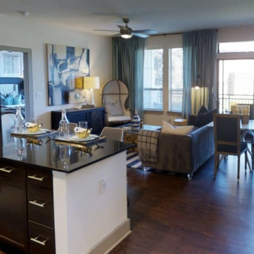 2 Bedroom tour at Waterford Trails in Spring, Texas
