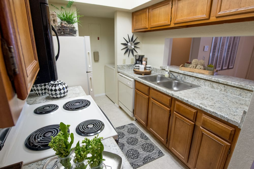Tulsa Apartments with large kitchens