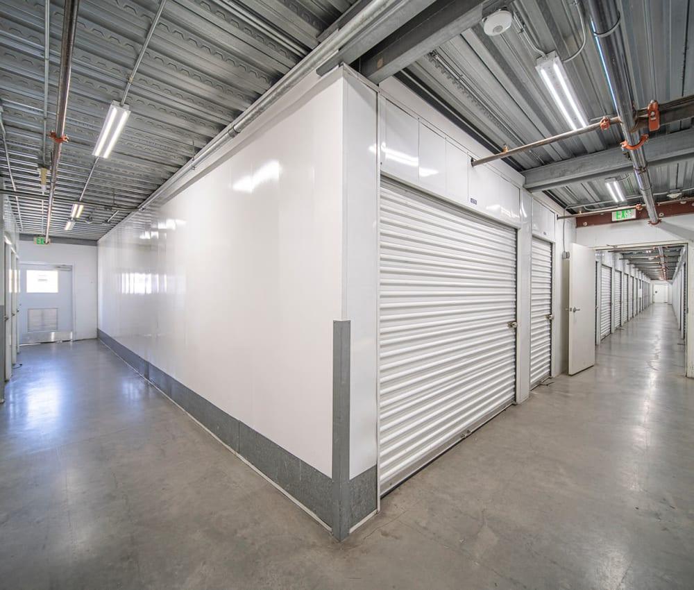 Large indoor units at El Monte Storage in El Monte, California