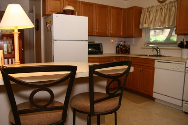 Kitchen model at Royal Court Apartments