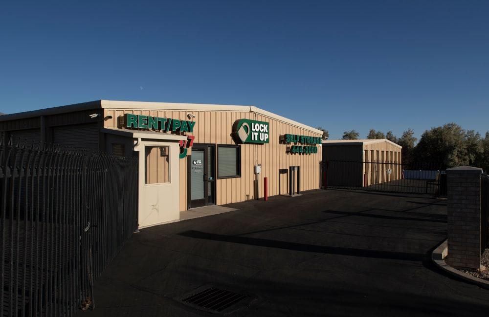 Storage units at Lock It Up Self Storage in Clearfield, Utah