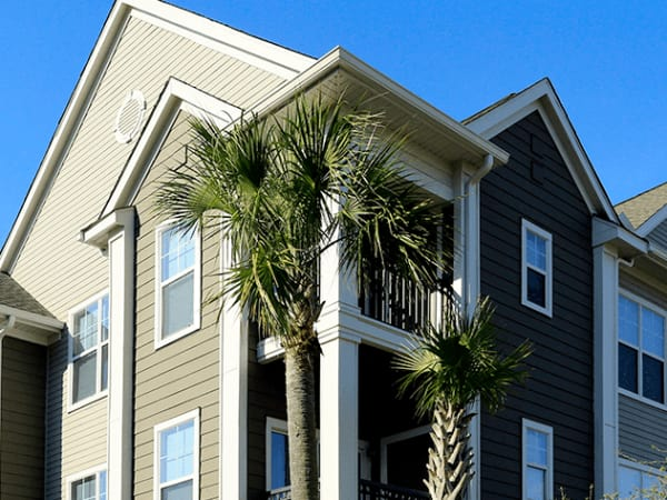 Exterior view of The Carlyle at Godley Station in Pooler, GA
