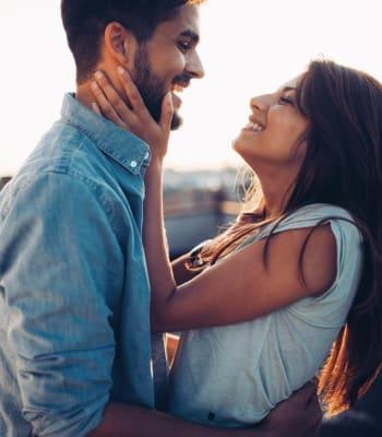A resident couple loving their new life at Niguel Summit Condominium Rentals in Laguna Niguel, California