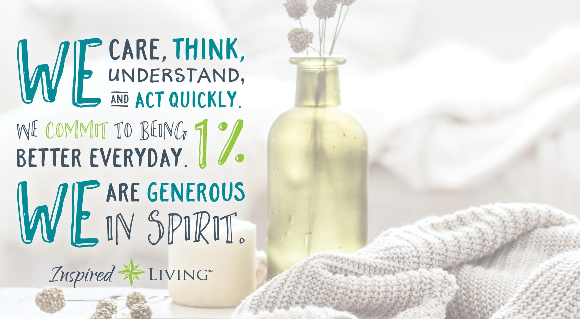 Senior Living at Inspired Living.